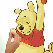 Winnie the Pooh Swinging for Honey Giant Wall Decals peel