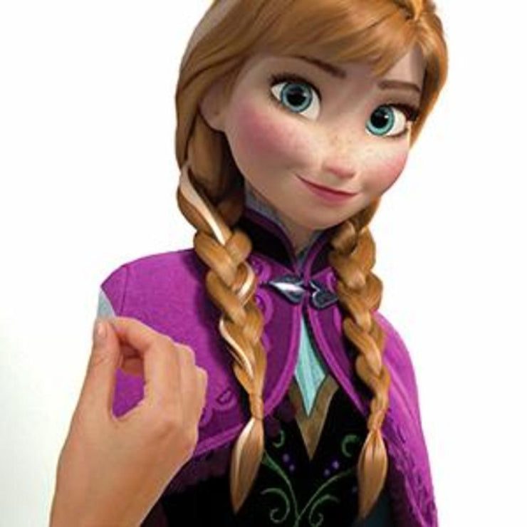 Disney Frozen Anna with Cape Giant Wall Decals peel