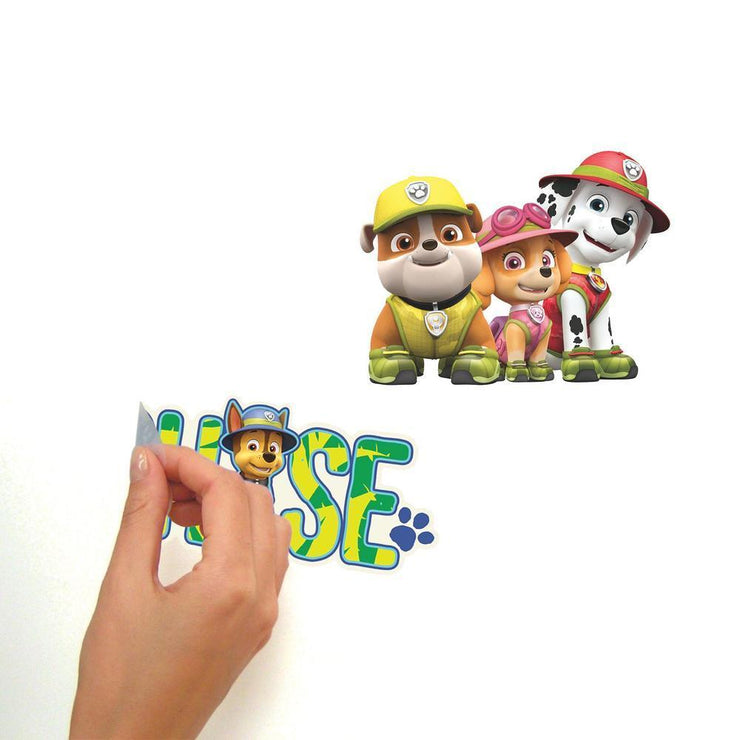 Jungle Paw Patrol Peel and Stick Wall Decals peel