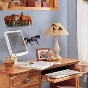 Wild Horses Wall Decals roomset