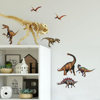Dinosaur Wall Decals roomset