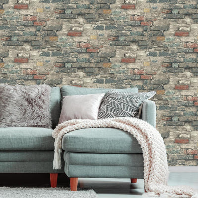 RMK11080WP Brick Peel And Stick Wallpaper