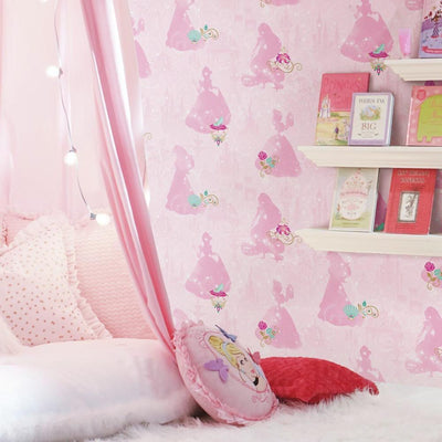 Disney Princess Peel and Stick Wallpaper roomset