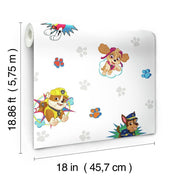 Paw Patrol Peel and Stick Wallpaper dimensions