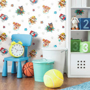 Paw Patrol Peel and Stick Wallpaper roomset 2