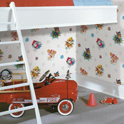 Paw Patrol Peel and Stick Wallpaper roomset 4