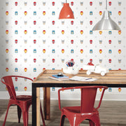 Avengers Character Spot Peel and Stick Wallpaper roomset 4