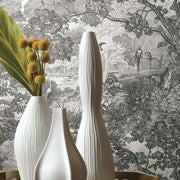 Decorate With Jungle Toile Peel and Stick Wallpaper