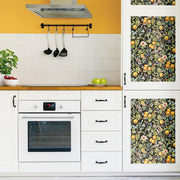 Citrus Peel and Stick Wallpaper roomset 3