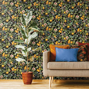 Citrus Peel and Stick Wallpaper roomset 4