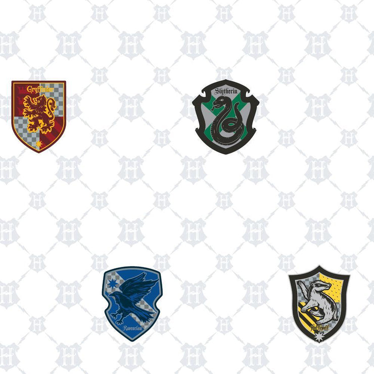 Harry Potter House Crest Peel and Stick Wallpaper