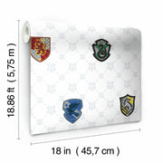 Harry Potter House Crest Peel and Stick Wallpaper roll