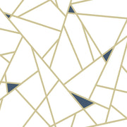 Fracture Peel and Stick Wallpaper gold