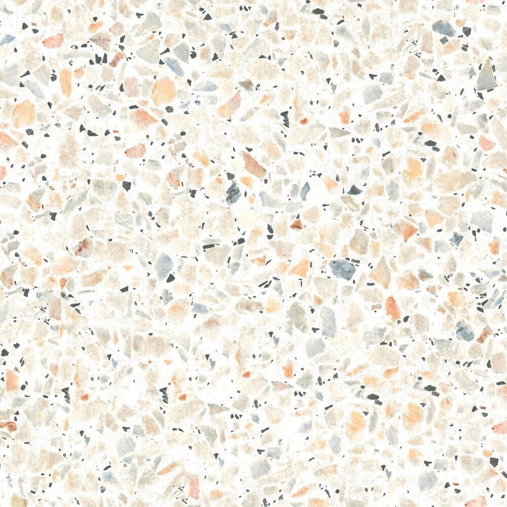 Terrazzo Peel and Stick Wallpaper multicolor
