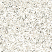 Terrazzo Peel and Stick Wallpaper black roomset
