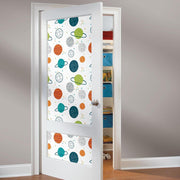 Planets Peel and Stick Wallpaper multicolor roomset 4