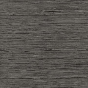 RMK11313WP Dark Gray Grasscloth Peel And Stick Wallpaper