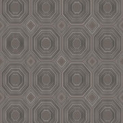 Bee's Knees Peel and Stick Wallpaper gray