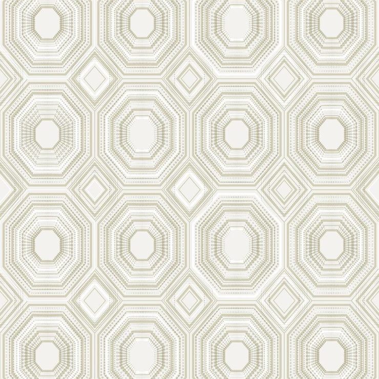 Bee's Knees Peel and Stick Wallpaper tan