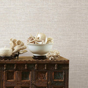 Tweed Peel and Stick Wallpaper beige roomset 2