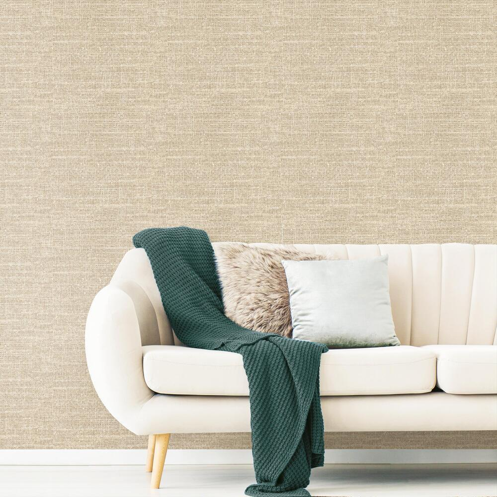 Tweed Peel And Stick Wallpaper Roommates Decor