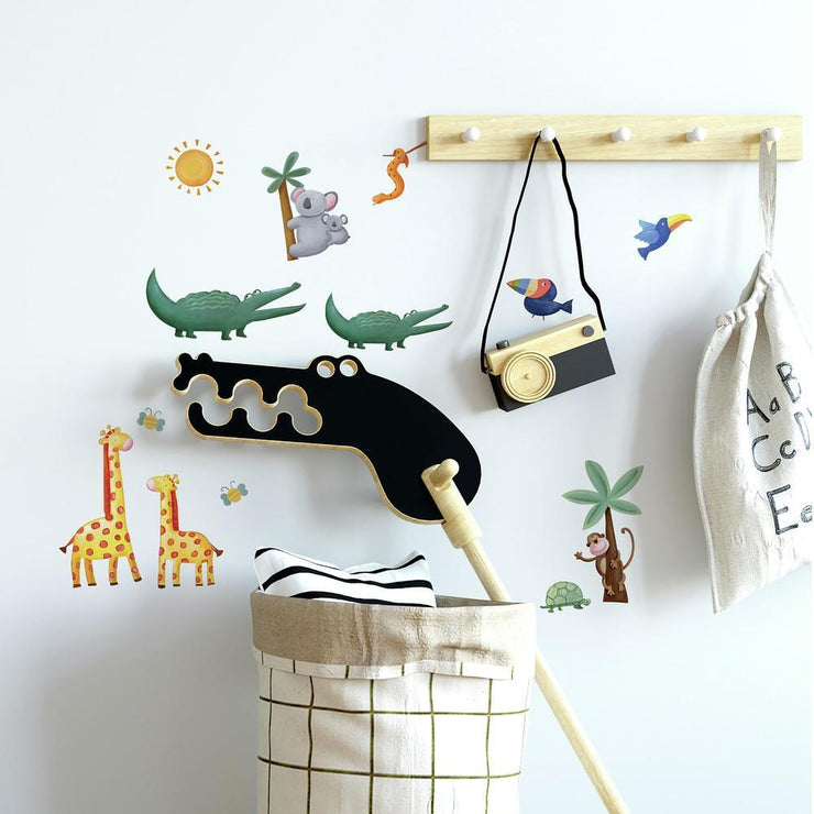 Jungle Adventure Wall Decals roomset 3