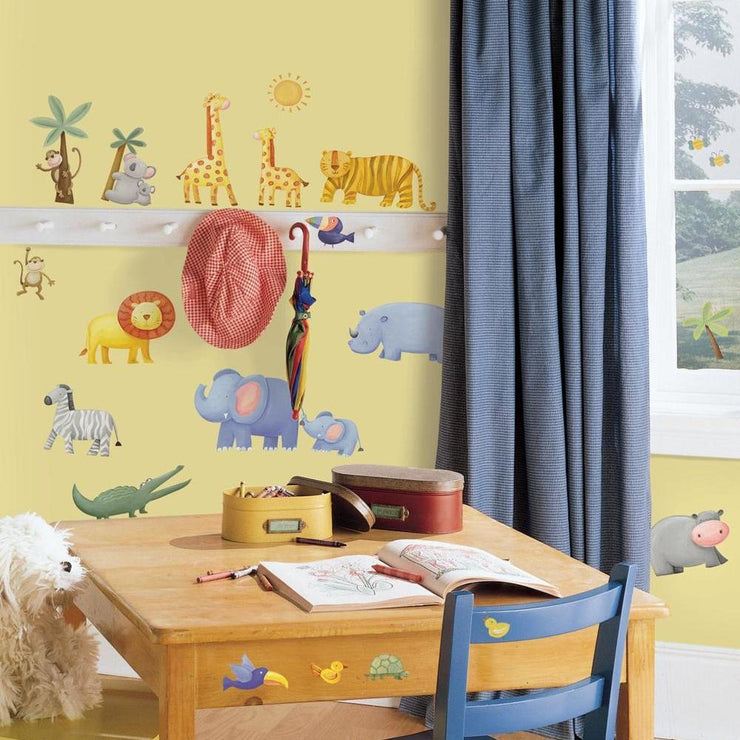 Jungle Adventure Wall Decals roomset 2