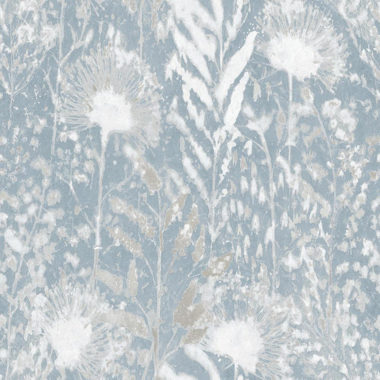 Dandelion Peel and Stick Wallpaper white