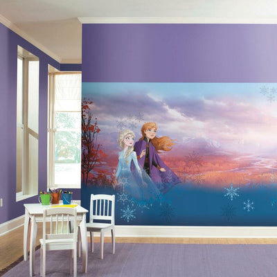 Disney's Frozen 2 Sister Peel and Stick Mural roomset