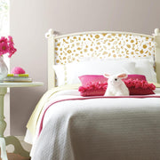 Princess Icons Peel and Stick Wallpaper with Glitter gold roomset 3