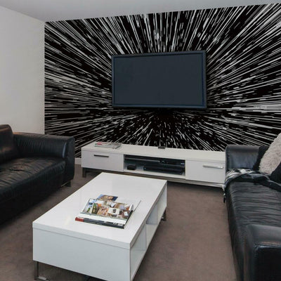 Star Wars™ Hyperspace Peel and Stick Mural r oomset 2
