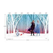 Disney's Frozen 2 Woodland Tree Peel and Stick Mural dims