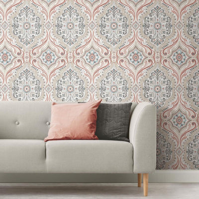 Traditional Peel And Stick Wallpaper Roommates Decor