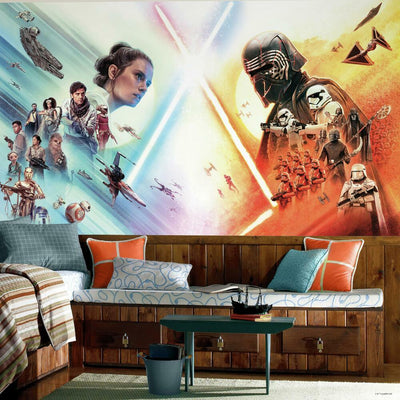 Star Wars: The Rise of Skywalker Peel and Stick Mural roomset