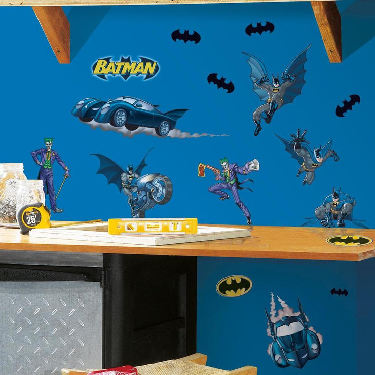 Batman Gotham Guardian Wall Decals roomset