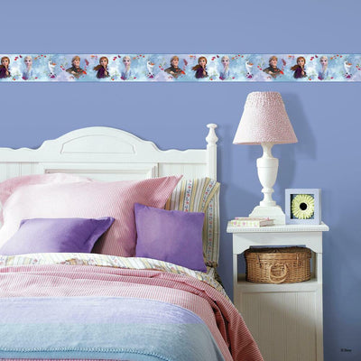 Frozen 2 Peel and Stick Border roomset