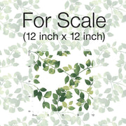 Finlayson Latvus Peel and Stick Wallpaper green scale