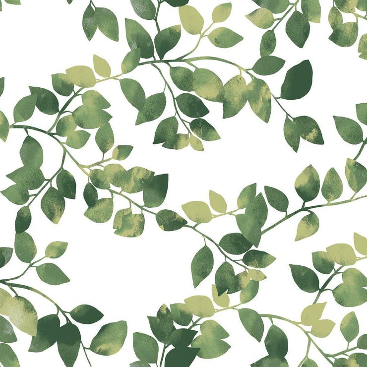 Finlayson Latvus Peel and Stick Wallpaper green