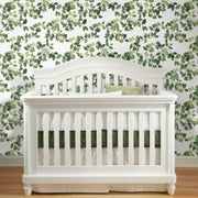 Finlayson Latvus Peel and Stick Wallpaper green roomset 4