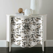Finlayson Latvus Peel and Stick Wallpaper black roomset 3