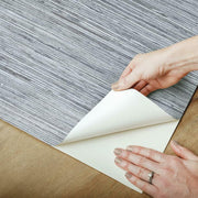 Grasscloth Peel and Stick Wallpaper light gray peel