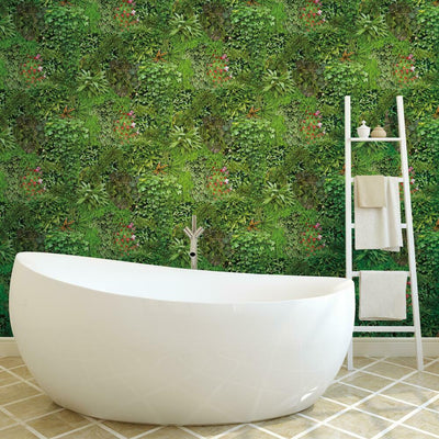 Living Wall Peel and Stick Wallpaper roomset