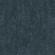 Ornate Ogee Peel and Stick Wallpaper blue