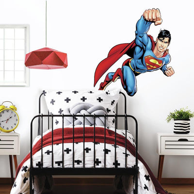 Superman: Day Of Doom Giant Wall Decal roomset