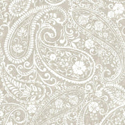 Paisley Prince Peel and Stick Wallpaper beige