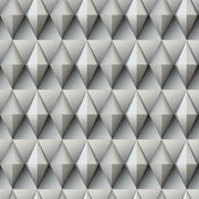 Paragon Geometric Peel and Stick Wallpaper grey
