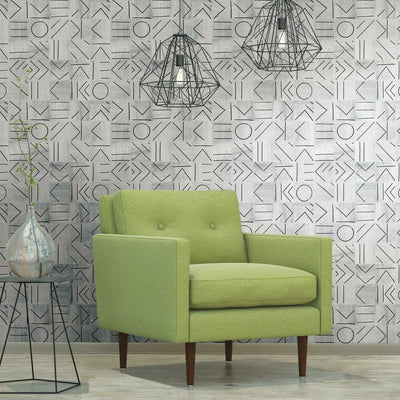 Down the Line Peel and Stick Wallpaper RMK11639RL roomset