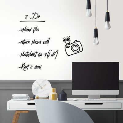 Dry Erase Peel and Stick Wallpaper roomset