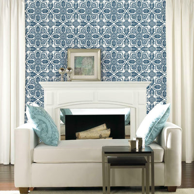 Curators Gem Peel and Stick Wallpaper roomset