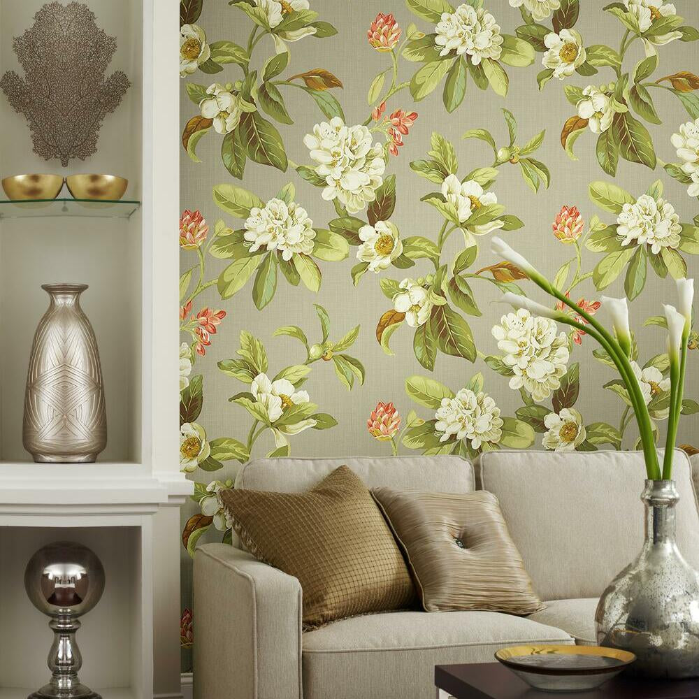 Waverly Live Artfully Peel and Stick Wallpaper - RoomMates ...